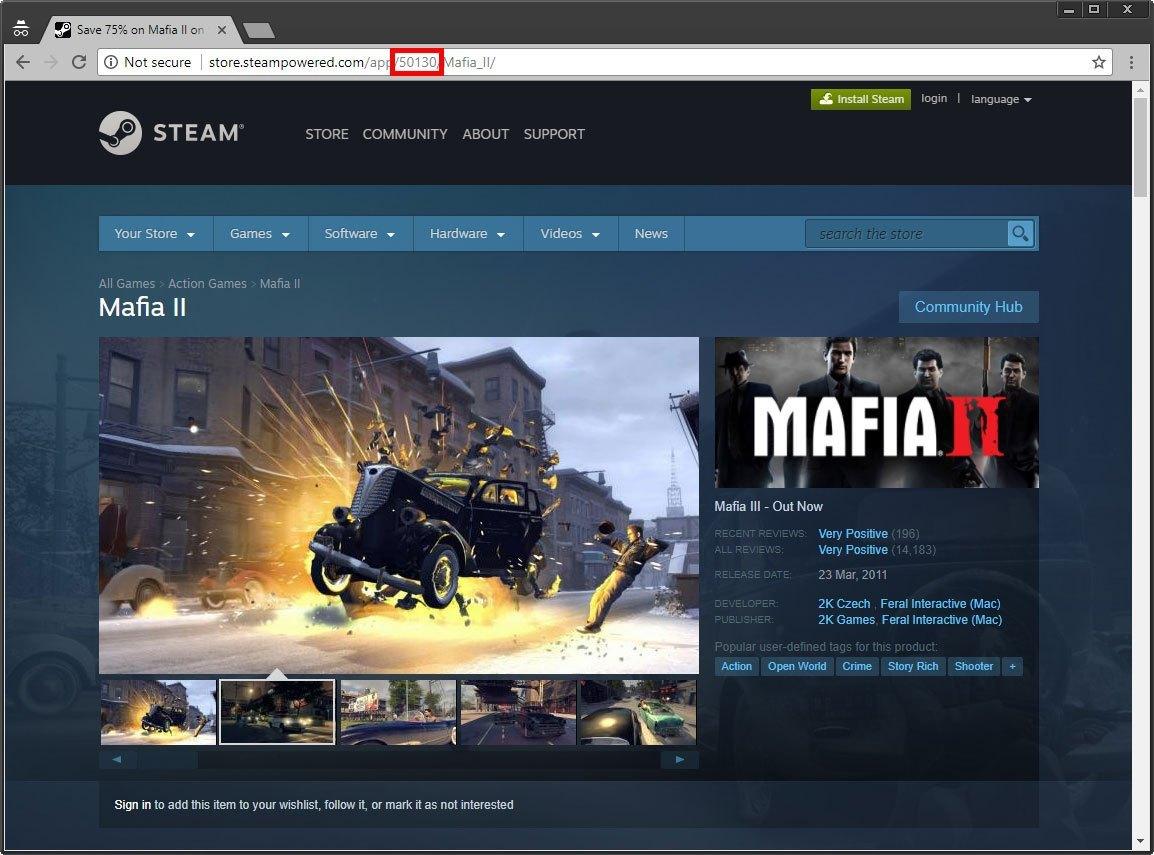 Backup Steam Games Find APPID
